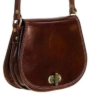 Floto Firenze Saddle Bag, Leather Tote Bag