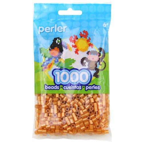 Perler Beads Gold Bag