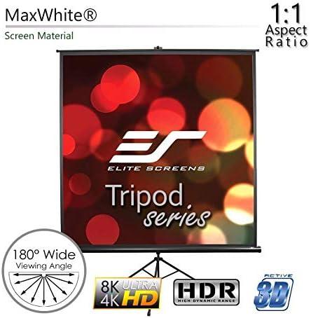 Elite Screens Tripod Pantalla de proyección 182,9 cm (72