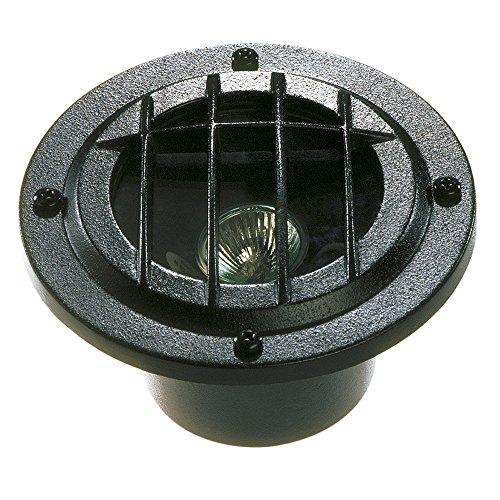 Sterno Home GL22725BK Paradise Low Voltage Cast Aluminum 50-Watt Halogen Sunfire Uplight, Black