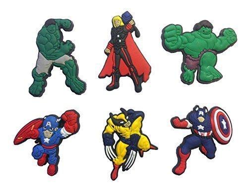 Avengers Fridge Magnets 6 Pcs Set #1