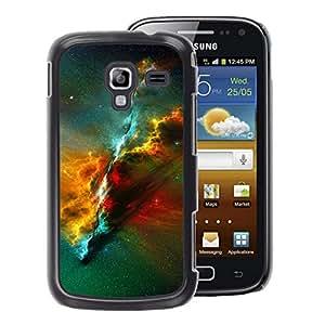 A-type Arte & diseño plástico duro Fundas Cover Cubre Hard Case Cover para Samsung Galaxy Ace 2 (Nebula Universe Space Science)