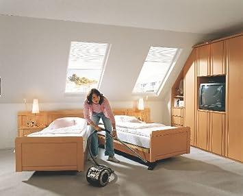 Komfortbett Seniorenbett Doppelbett Saphir Vario Buche Amazon De Kuche Haushalt