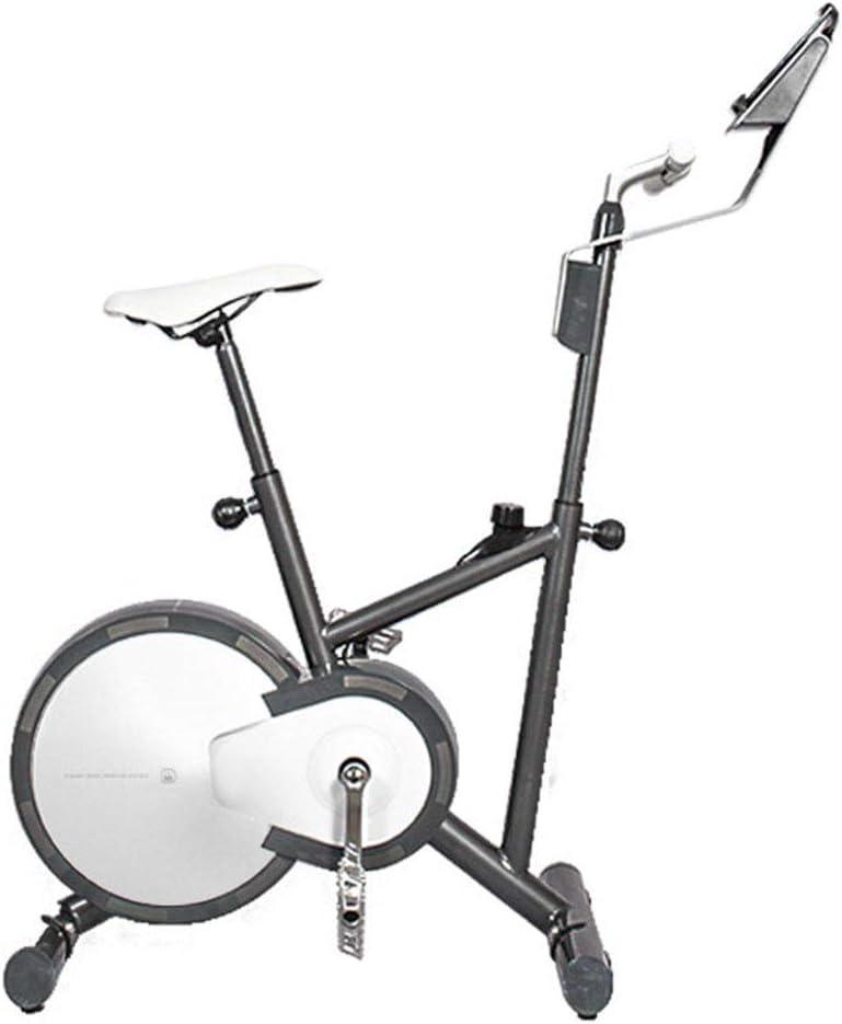 XZBYX Bicicleta Estática Dinámica Inteligente De Control Magnético Ultra Silencioso De Equipos De Gimnasio Pequeño Ejercicio De Peso Casa En Bicicleta Ocho Ajustes Libres (129 * 51 * Los 71CM): Amazon.es: Deportes