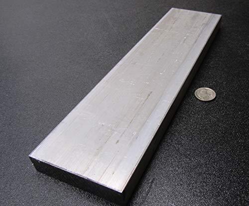 2024-T4 Aluminum Bar Stock 1 Pc. 1.00 Thick x 3.00 Width x 12.00 Length