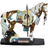 Westland Giftware Fallen Chief War Horse Mustang 6-1/2-Inch Resin Figurine