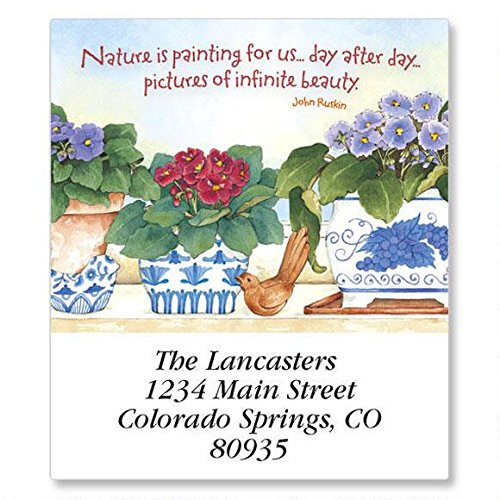 (Gardening Year Round Self-Adhesive, Flat-Sheet Select Address Labels by Colorful Images (12 Designs), Count 144 )