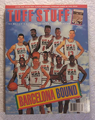 - The Dream Team - USA Men's Olympic Basketball Team - Barcelona Bound - Tuff Stuff Magazine - July 1992
