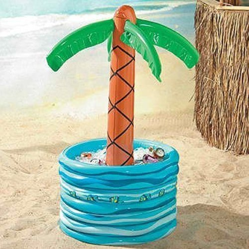 Inflatable Palm Tree Beer Cooler