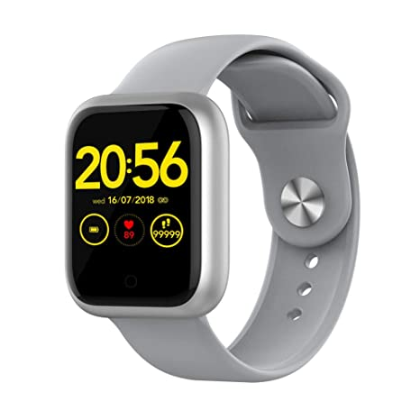Amazon.com: DSMART GT1 Fitness Smartwatch Bluetooth 5.0 ...