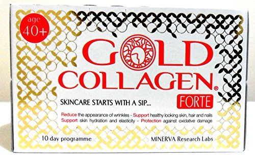 Minerva Gold Collagen Drink Forte for Age 40+ 10 Day Program - by Minerva by Minerva