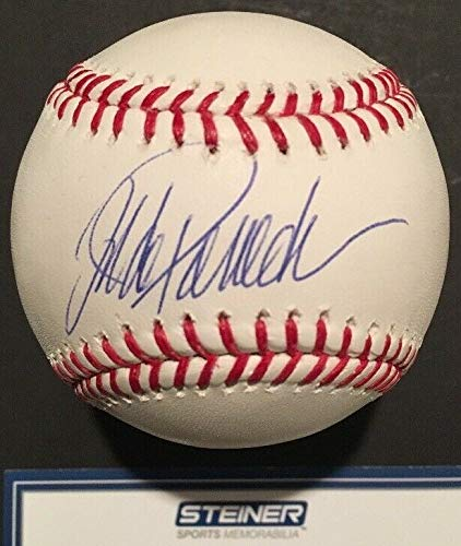 Jorge Posada Autographed Signed Memorabilia Official MLB Baseball Steiner Coa Mint Autograph Yankees - Certified Authentic
