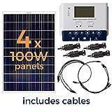 Grape Solar GS-400-KIT 400-Watt Off-Grid Solar Panel Kit Picture