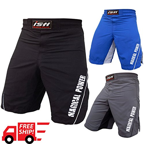 ISH Sports MMA Kick Boxing Grappling Short Fight Martial Arts Muay Thai UFC Cage New