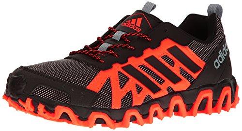 Adidas Prestanda Mens Snitt M Trail Löpare Sol Orange / Svart / Vit