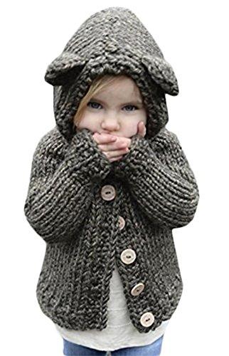 Knit Sweater Coat Pattern - 8