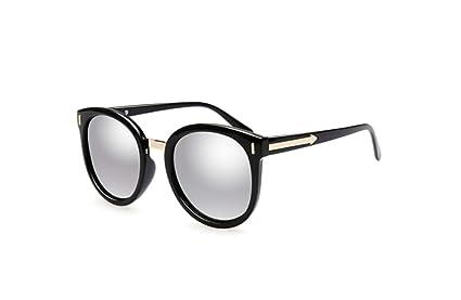 liwenjun Gafas De Sol Gafas De Sol Polarizadas Cara Redonda Espejo De Conducción Protección UV Gafas