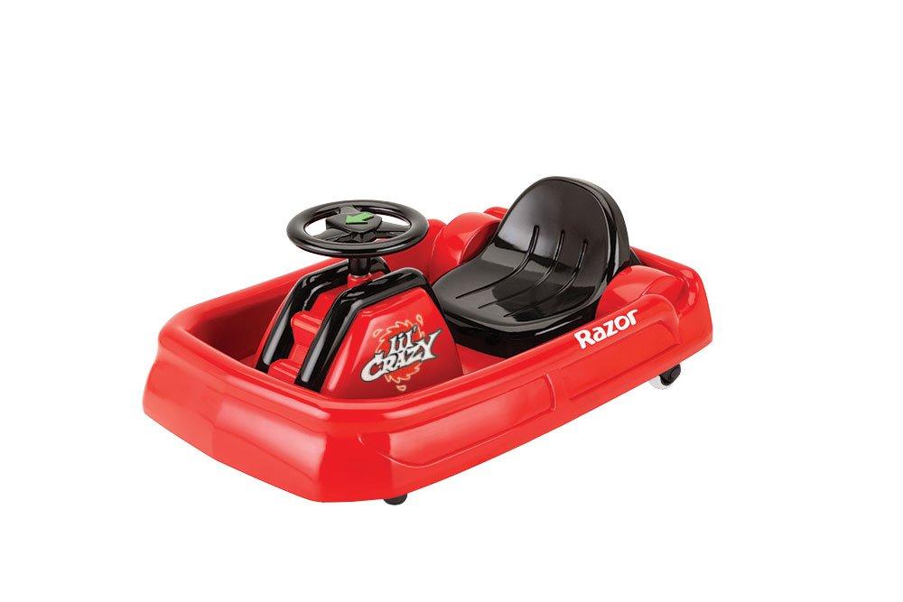 Razor Lil Crazy - Vehículo eléctrico para niños, Color Rojo 25173660 19 96 cart