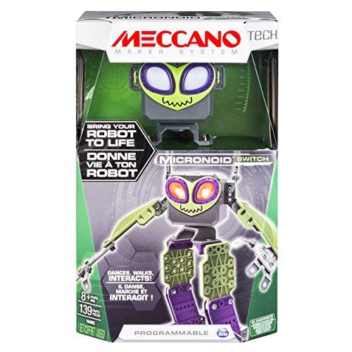 image Spin Master 6033259–Meccano–micronoid–Vert