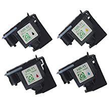 Colour-Store New Arrival 4 Pack (Black Cyan Magenta Yellow) Replacement for HP 11 Printhead Fit for HP Designjet 70 90 100 110 500 510 500ps 800ps 9110 K850