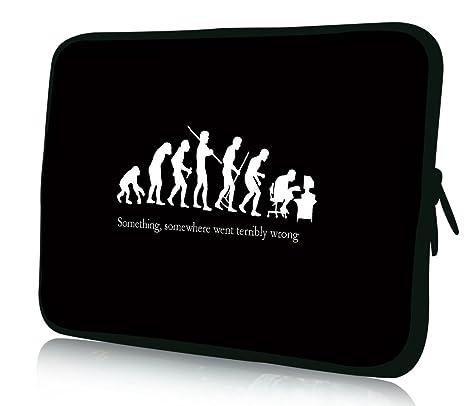 Luxburg®: funda de diseño para ordenador portátil de 10,2 ...