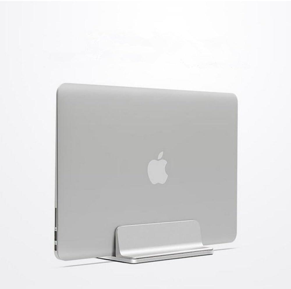 Double Slot Vertical Stand Mount Holder for MacBook Laptop Chromebook Tablet Smartphone