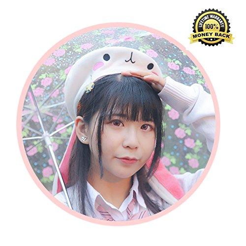 Kawaii Rabbit Beret costume Headwear Christmas Gift Cosplay Girls Coser RH00001