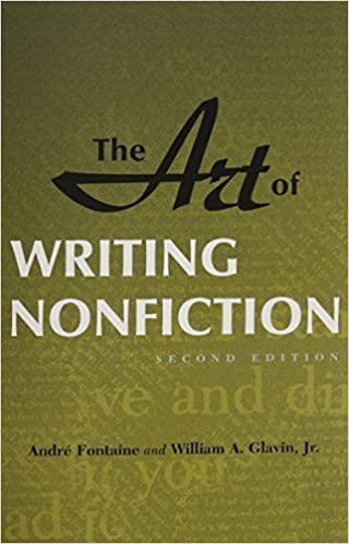 Book Art of Writing Nonfiction by Andre Fontaine (1990-10-01)