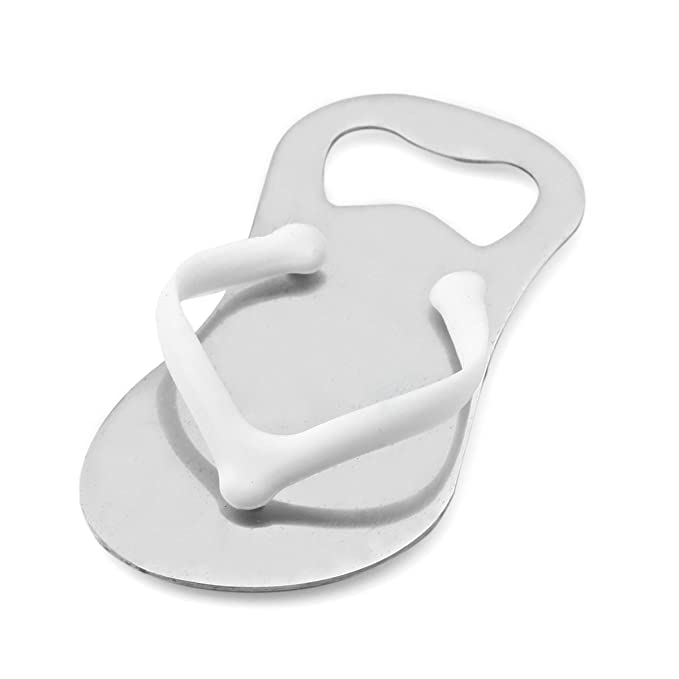 3195dcc62 Amazon.com  Pack of 50 Custom Engraved Pop the Top Flip-Flop Bottle Openers  in Pouch