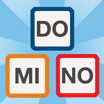 Palabras Domino - juego de letras para los niños y los mayores