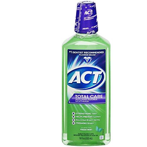 Act Tc Frsh Mnt Mthwsh Size 18z Act Total Care Fresh Mint Mo