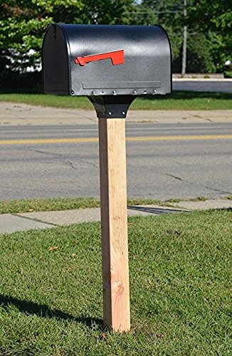 Mailbox Post Support for 4x4 Posts Fits Standard 4 x 4 Post (3.5