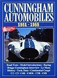Cunningham Automobiles 1951-1955, R. M. Clarke, 1855202042