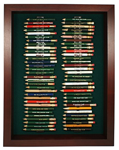 64 Golf Pencil Display Case (Cherry)