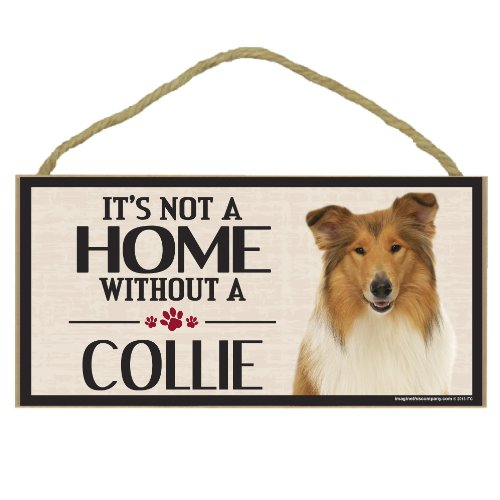 (Imagine This Wood Sign for Collie Dog Breeds)