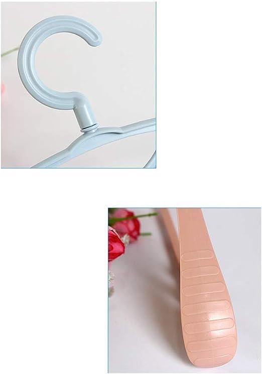 Mehrzweck-Kleiderb/ügel f/ür Erwachsene Haken-W/äschest/änder spurloser Kunststoff-Kleiderb/ügel mit breiter Schulter Rutschfester zhangchengxiang520 Neuer gr/ün
