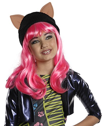 [Monster High Howleen Wig] (Blue Bull Mascot Costume)