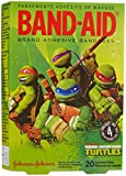 Band-Aid Adhesive Bandages-Teenage Mutant Ninja Turtles-20 ct, Assorted Sizes