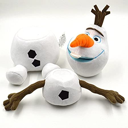 UNIQUE - Peluche OLAF - 30 cm - Détachable 3 parties - Pull apart 3 parts - Staccabile 3 pezzi - Reine des Neiges- Frozen (30): Amazon.es: Juguetes y juegos