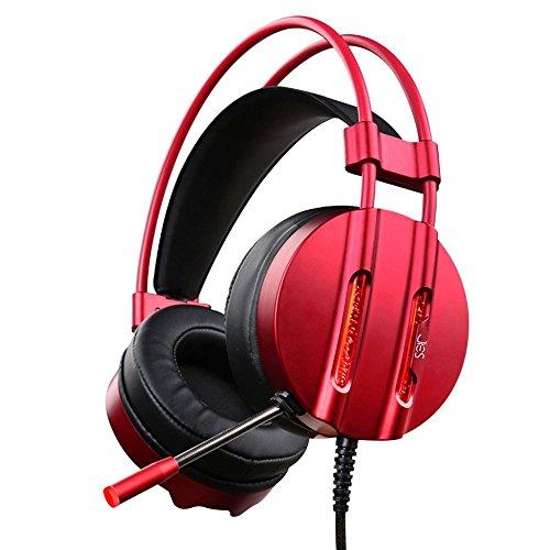 XHKCYOEJ Headset Stereo Headset/Headphones/Headphones/Internet Cafes/Internet Cafes/Games,Iron Gray: Amazon.co.uk: Electronics