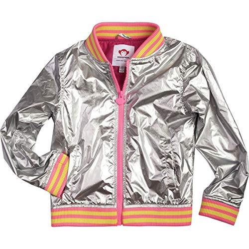 Appaman Kids Baby Girl's Nikki Bomber Jacket (Toddler/Little Kids/Big Kids) Silver 8 -