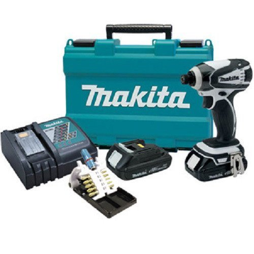 Makita LXDT04CWX1 Impact Driver with Gold Bit Set