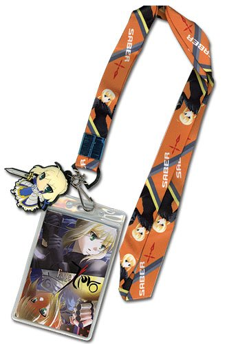"""Great Eastern Entertainment Fate Zero - Saber Lanyard Multicolored, 5"""""""