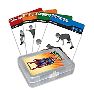 FITDECK Exercise Playing Cards for Guided Sports Workouts