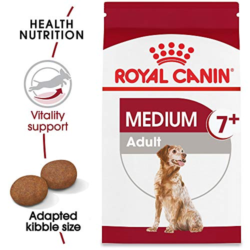 Royal Canin Size Health Nutrition Medium Adult 7+ Dry Dog Food, 30 Lb