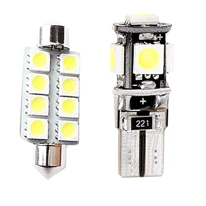 Para POLO MK5 LED Bombilla Luz Interior de Coche Super brillante ...
