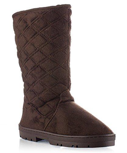 RF ROOM OF FASHION Emma Winter Boots (Tan Su Size 5)