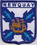 Cornwall Newquay Embroidered Badge