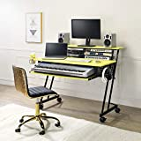 ADAKEL Music Studio Desk with Keyboard Tray