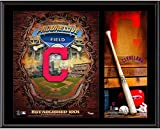 "Cleveland Indians Sublimated 12"" x 15"" Team Logo Plaque - MLB Team Plaques and Collages"